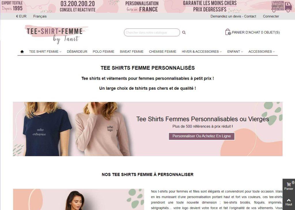 Site tee-shirt.femme